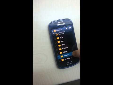 SAMSUNG ANDROİD TELEFONLARDA DOSYA GİZLEME