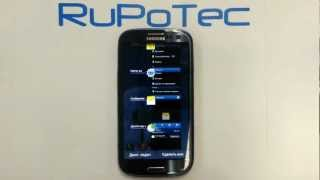 Диспетчер задач на смартфоне Samsung Galaxy S3 Android(RuPoTec покажет, как открыть диспетчер задач на смартфоне Samsung Galaxy S3 I9300 Android. Обновление Android Jelly Bean Update., 2012-10-26T21:34:50.000Z)