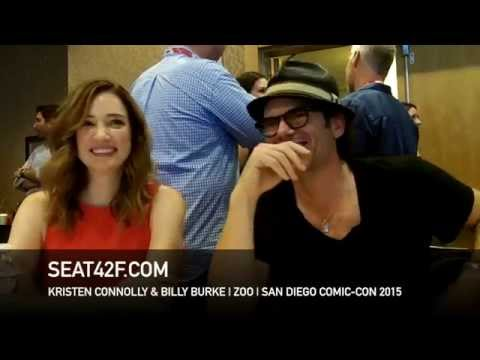 Kristen Connolly & Billy Burke ZOO Comic Con 2015