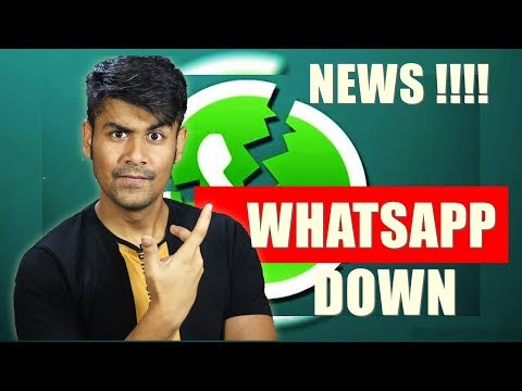 (fixed) Whatsapp Down In INDIA !! Images Not loading | Breaking News