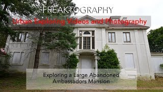 Exploring an Abandoned Millionaires Mansion (THANKS FOR 1,000 Followers!)