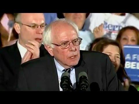 Bernie Sanders Wins New Hampshire Democratic Primary Election