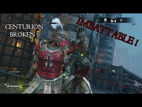 For Honor |  CENTURION  | Analyse et Duels ! Part 1
