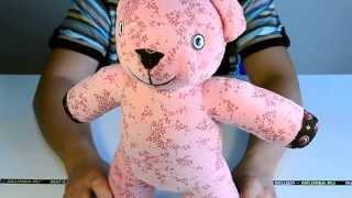 Идеи подарков: Мягкая игрушка Розовый мишка (видео обзор)