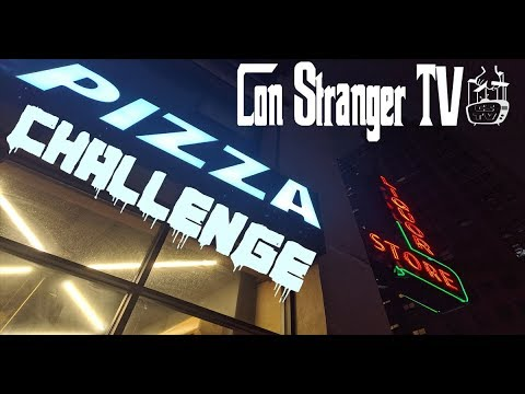 Con Stranger TV - The NY Pizza Challenge