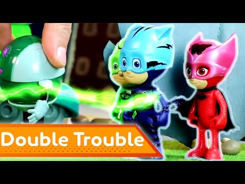 PJ Masks Creations 💜 Seeing Double | Play with PJ Masks