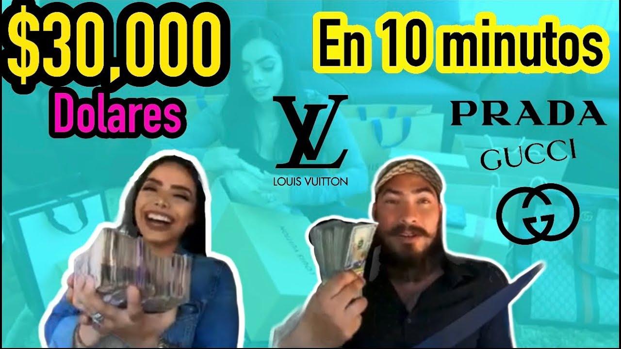 GASTANDO $30,000 DOLARES EN 10 MINUTOS **reaccionamos a nuestro primer vídeo viral**