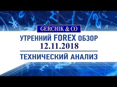 ✅ Технический анализ основных валют и нефти марки BRENT 12.11.2018 | Обзор Форекс с Gerchik & Co.