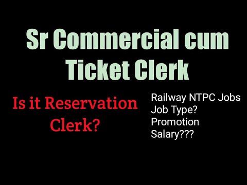 Senior commercial cum Ticket Clerk  Job Profile, Salary, Promotion  Detail  Analysis