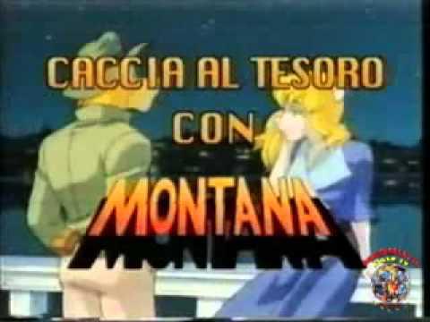 Caccia al tesoro con Montana apertura Videosigla cartone