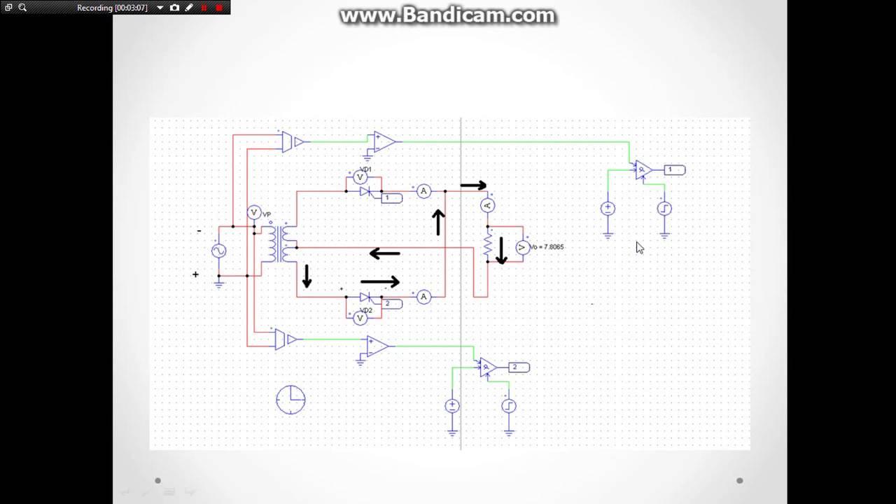 Transformer Rectifier Circuit
