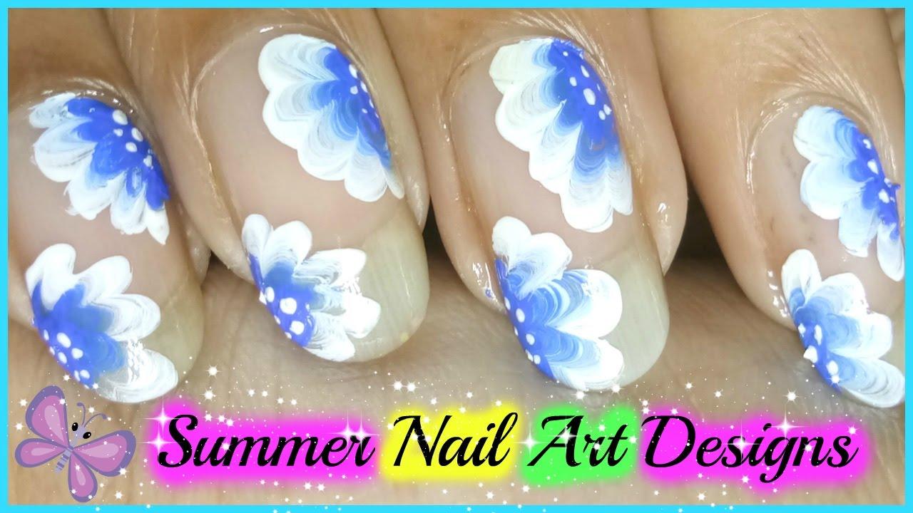 Summer Nail Polish Designs - Lovely Nail Polish Designs For Summer ...