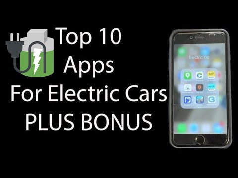 What Apps do I need for an electric car? Best apps for electric cars 🔌🔋