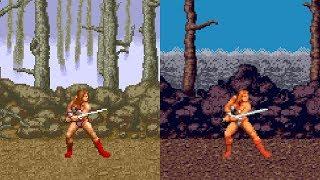 Golden Axe - All versions gameplay HD