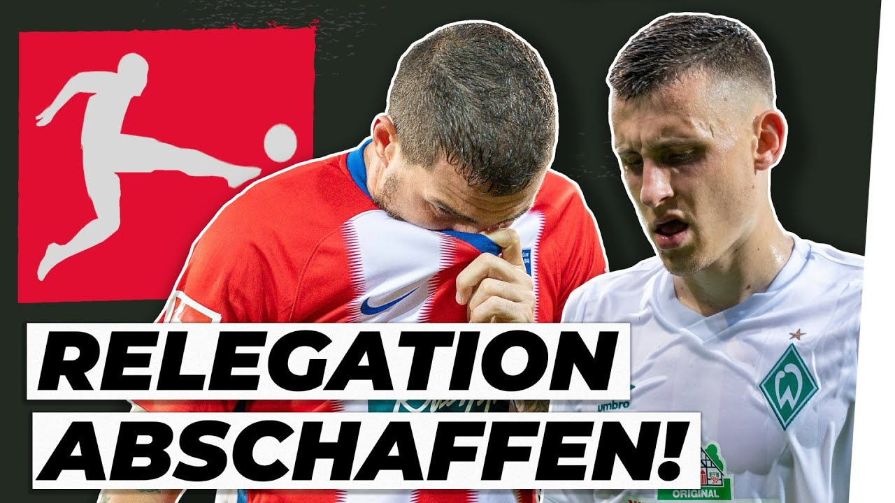 Relegation: 3 Bundesliga-Absteiger sind Pflicht!