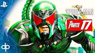 SPIDERMAN PS4 Parte 17 Spiderman vs Rhino & Scorpion | Gameplay Español PS4 PRO