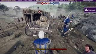 Geralt ujeżdza Płotke - Mordhau / 10.05.2019 (#3)