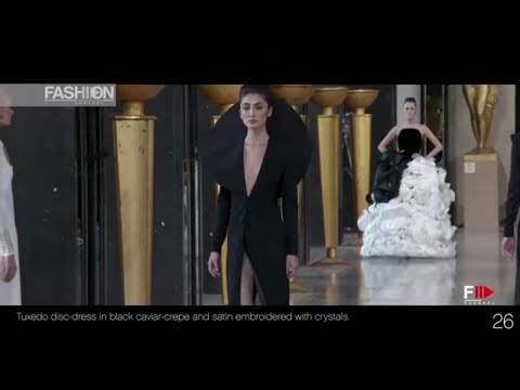 STEPHANE ROLLAND Haute Couture Spring 2020 Paris - Fashion Channel