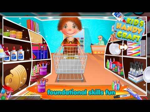 Kids Handicraft Game For Kids Gameplay Video By Arth I Soft