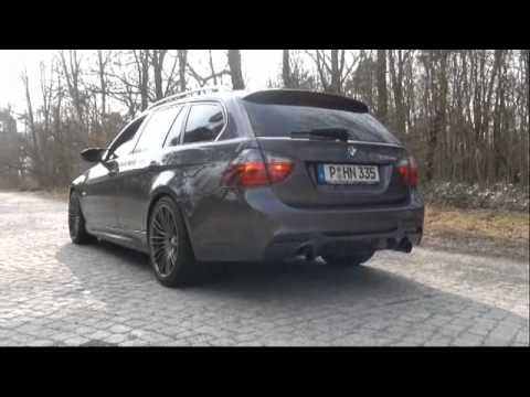 bmw performance auspuff esd 335i youtube. Black Bedroom Furniture Sets. Home Design Ideas