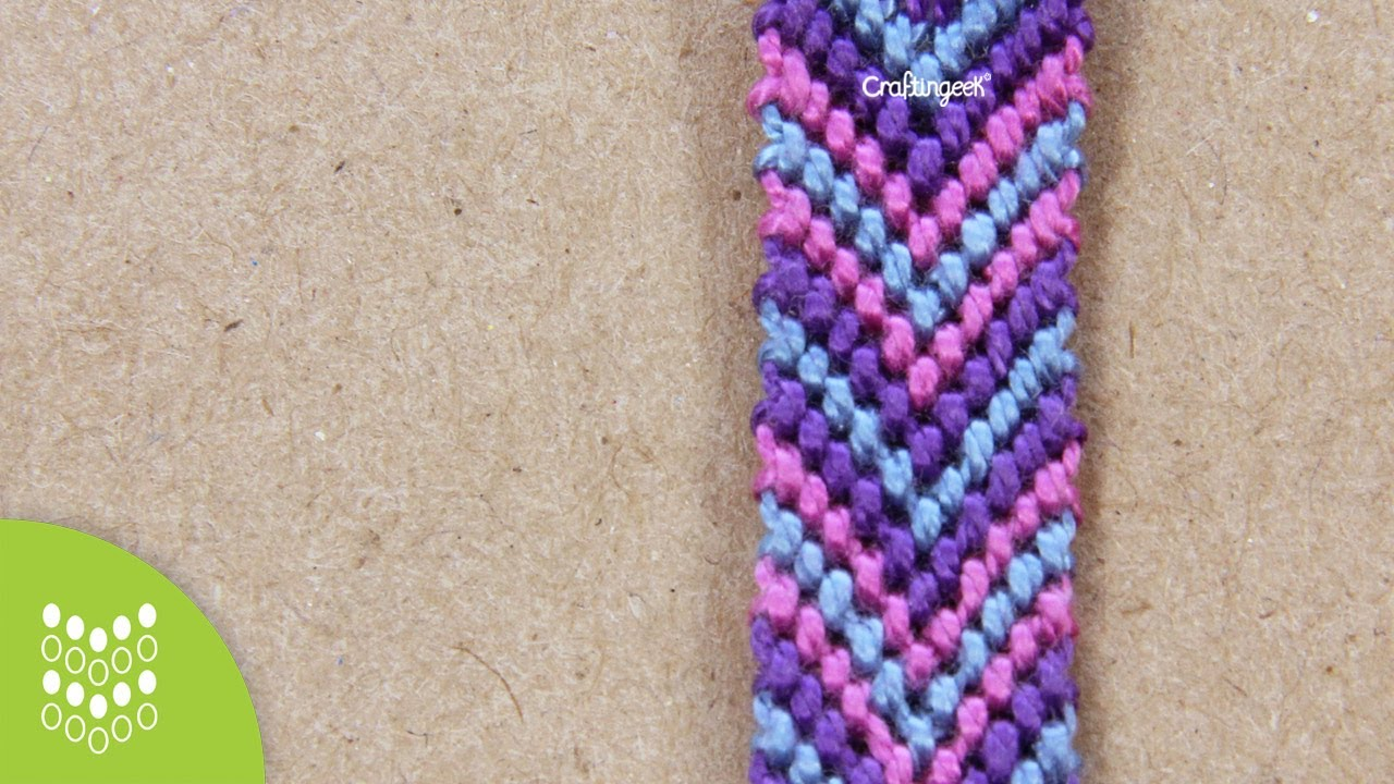5aadf70a8492 How to make Macrame Chevron (Arrow Downwards)