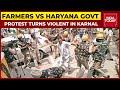 Gambar cover Farmers Vs Haryana Govt: Farmers Protest In Karnal Turns Violent   India Today
