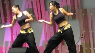 Young Sexy Japanese girls dancing show cute dance performance