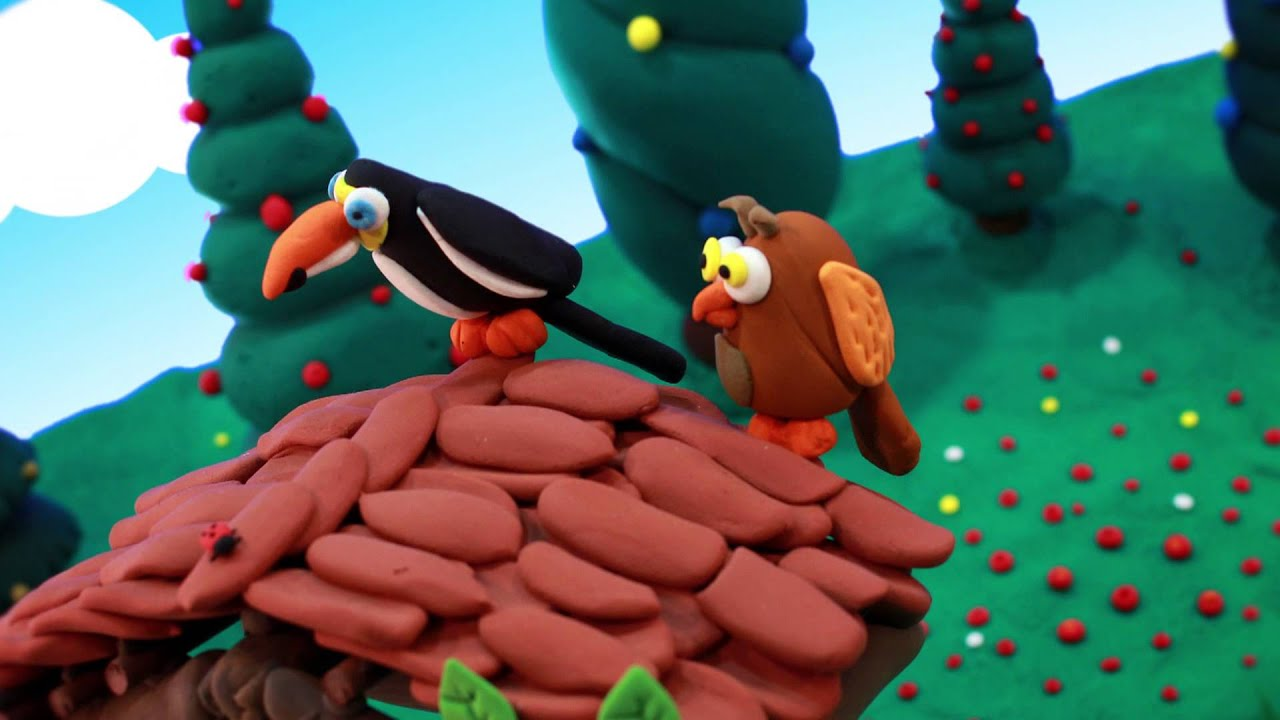 Jumping Clay - Dancing Clay Animation - YouTube