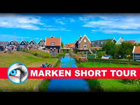 MARKEN - SHORT TOUR - 4K 2017 - TRAVEL GUIDE - NETHERLANDS