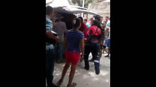 Momentos de angustia por la caída de un plafón en #Mamatoco