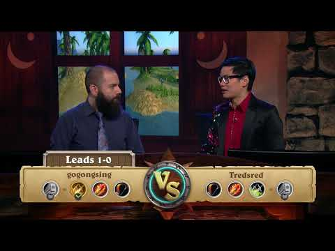 gogongsing vs. Tredsred - Round 1 - 2018 HCT Asia-Pacific Summer Playoffs