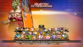 DRAGON BALL FIGHTERZ: ALL CHARACTERS NEW DLC CHARACTERS and all stages