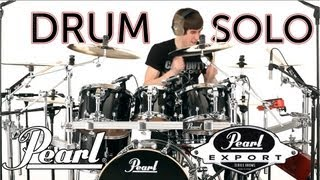 Drum Solos on the New Pearl Export Series Drums!