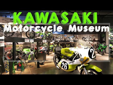 Video Intermission – A Tour of Kawasaki's Motorcycle Museum in Japan