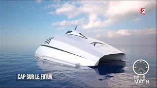 Nouveau - Le bateau français de luxe futuriste