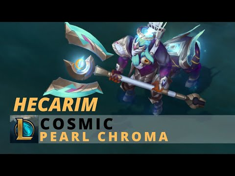 Cosmic Hecarim Pearl Chroma - League Of Legends