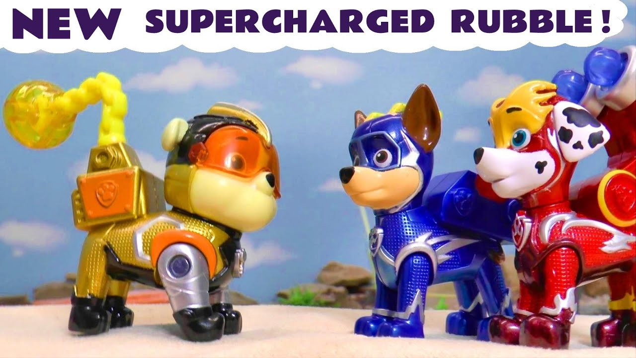 New Paw Patrol Mighty Pups Charged Up Powers for Rubble in this Family Friendly Full Episode