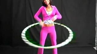 Видео упражнение с обручем-хулахуп Hoop №1