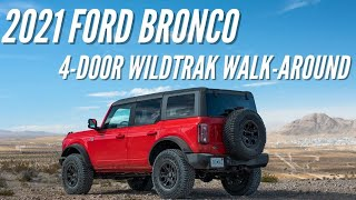2021 Ford Bronco WildTrak Walk-Around | Bronco Nation