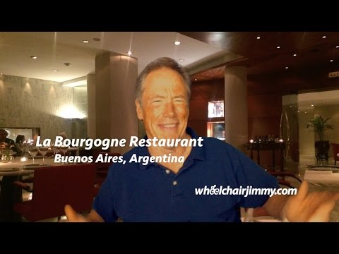 La Bourgogne Restaurant, Buenos Aires, Argentina - Wheelchair Accessibility