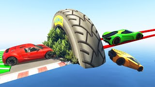 Survive The HIDDEN TIGHTROPE TROLL! (GTA 5 Funny Moments)