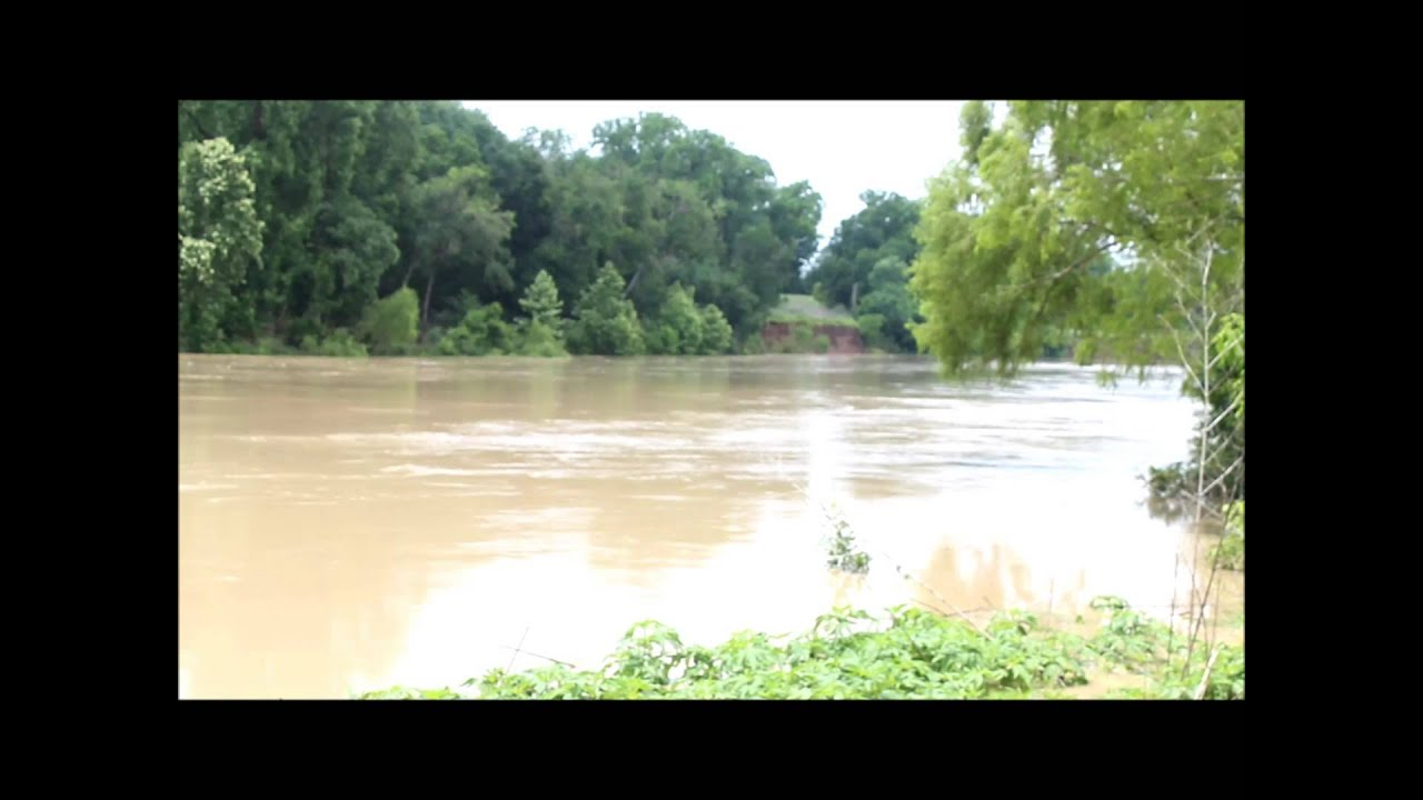 Raw Video: Colorado River at Fisherman's Park, Bastrop, Tx ...