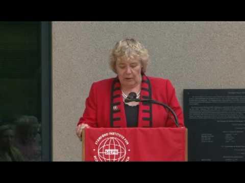 Congresswoman Zoe Lofgren at SIEPR