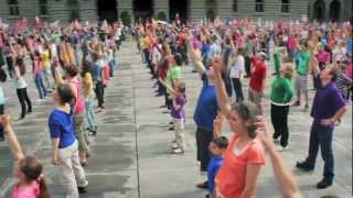 Bern, Switzerland - Up to Faith Global Dance 2012 - [OFFICIAL] Tanz Bundesplatz Bern