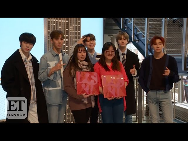 MonstaX at The Empire State Building