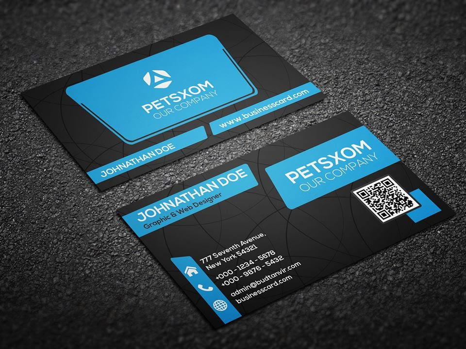 Photoshop Tutorial : Business Card Mockup Using JEPG Template - YouTube