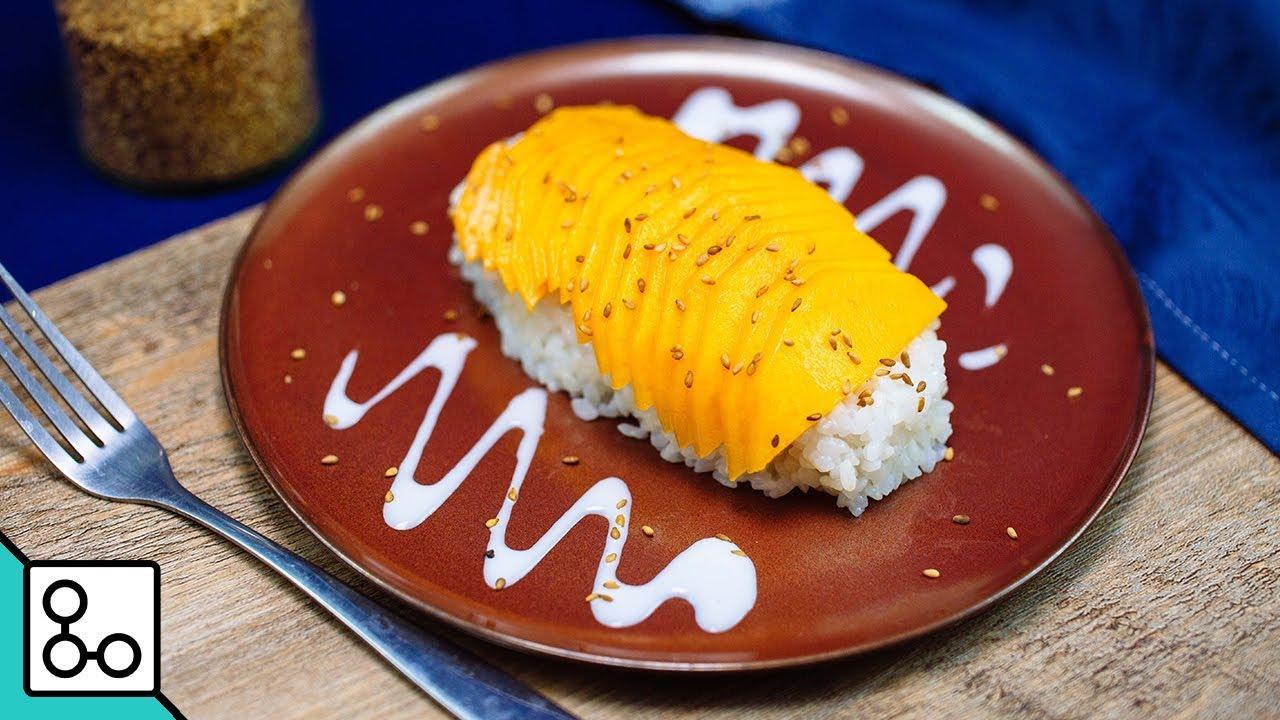 Mango Sticky Rice Youcook Youtube