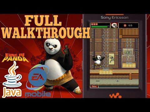 Kung Fu Panda JAVA GAME (EA Mobile 2008 Year) FULL WALKTHROUGH