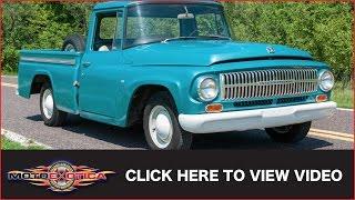 1966 International 1000A Pickup (SOLD)