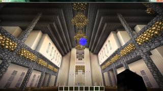 Minecraft Notre Dame Cathedral tour